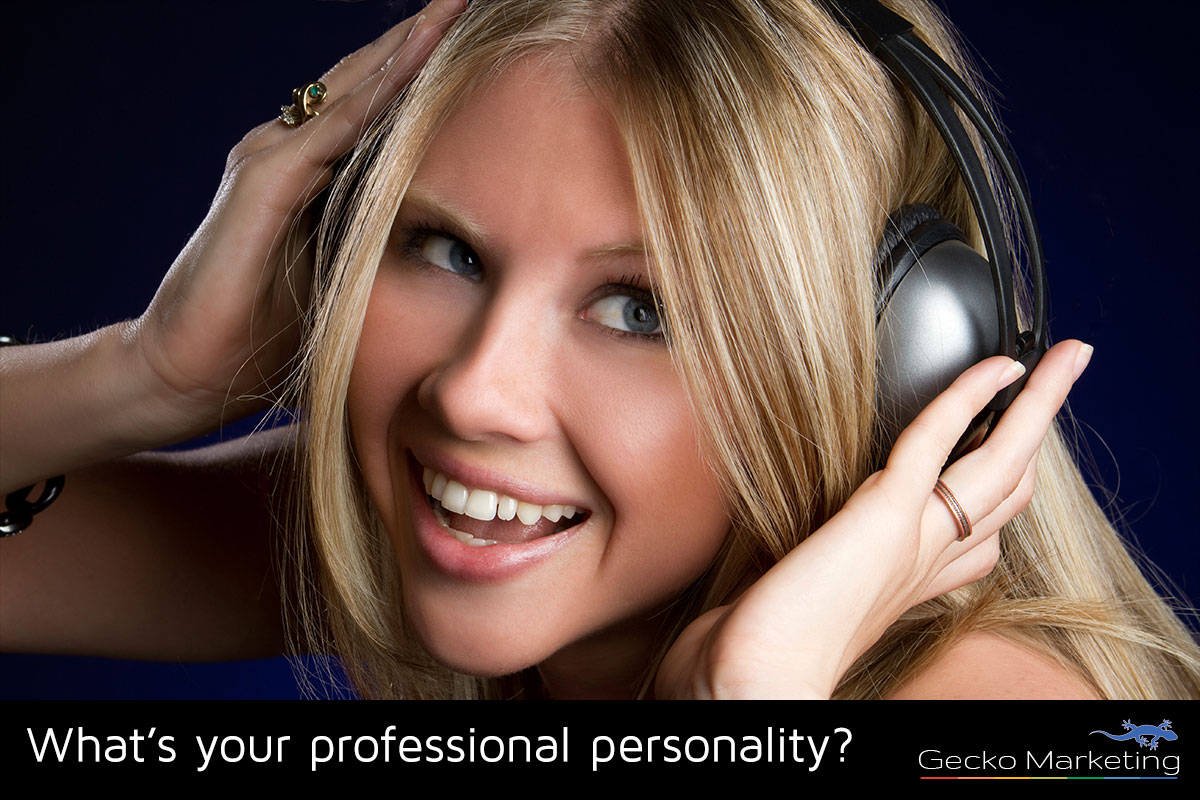 What's your professional personality by Gecko Marketing